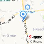 Компания по ремонту квартир на карте Южно-Сахалинска