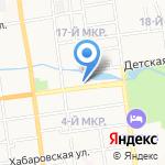 Центр деловых коммуникаций на карте Южно-Сахалинска