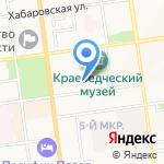 Адвокат Каплунов Н.Ф. на карте Южно-Сахалинска
