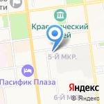 Кушевский В.В. на карте Южно-Сахалинска