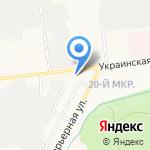 Центр досуга на карте Южно-Сахалинска