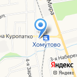 Почтовое отделение №14 на карте Южно-Сахалинска