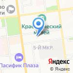 Асгард на карте Южно-Сахалинска