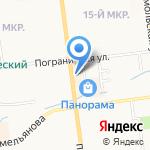 Аптечный пункт на карте Южно-Сахалинска