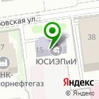 Местоположение компании ТЕХИНКОМ