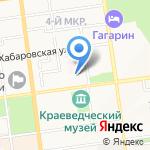 Стоматологический кабинет на карте Южно-Сахалинска