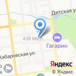 Милый Дом на карте Южно-Сахалинска
