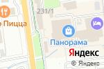 Схема проезда до компании Меридиан в Южно-Сахалинске