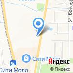 Арена сити на карте Южно-Сахалинска
