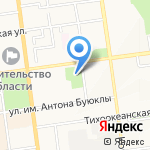 Сахалинский областной краеведческий музей на карте Южно-Сахалинска
