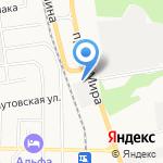 Водолазная компания на карте Южно-Сахалинска