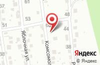 Схема проезда до компании Рахат в Подольске