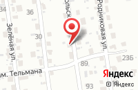Схема проезда до компании Вита-Экспресс в Красном Яре