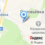 Светлана на карте Южно-Сахалинска