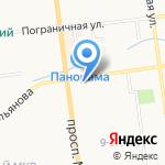 Фазенда на карте Южно-Сахалинска