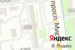 Схема проезда до компании Vangog Studio в Южно-Сахалинске