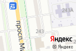 Схема проезда до компании Ночной охотник в Южно-Сахалинске