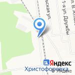 Прима на карте Южно-Сахалинска