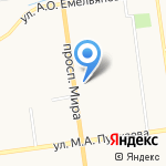 Колотова Е.Л. на карте Южно-Сахалинска