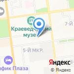 ДВ Сахмед Сервис на карте Южно-Сахалинска