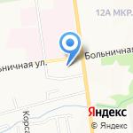 Элен на карте Южно-Сахалинска