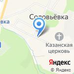 Астория на карте Южно-Сахалинска