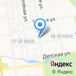 Самто на карте Южно-Сахалинска