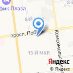 Про Сервис Групп на карте Южно-Сахалинска