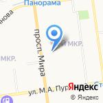 Пони Экспресс на карте Южно-Сахалинска