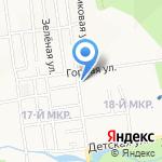 Зоомагазин на карте Южно-Сахалинска