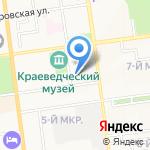 Домофон на карте Южно-Сахалинска