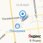 Моё Зверьё на карте Южно-Сахалинска
