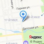 НЭК на карте Южно-Сахалинска