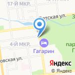 Гермес-Русь на карте Южно-Сахалинска