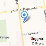 Slim club на карте Южно-Сахалинска