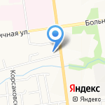 Джуниор на карте Южно-Сахалинска