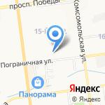 Адвокатский кабинет Соломонюка А.Ю. на карте Южно-Сахалинска