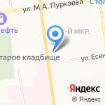 Ивановы и Партнеры на карте Южно-Сахалинска
