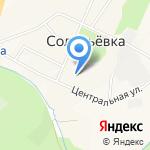 Сельский клуб на карте Южно-Сахалинска
