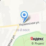 Союз на карте Южно-Сахалинска