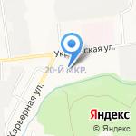 Почтовое отделение №12 на карте Южно-Сахалинска