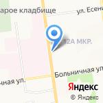 Ремонтная мастерская на карте Южно-Сахалинска