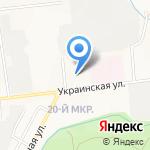 Вернисаж на карте Южно-Сахалинска
