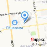 Бьюти Тория на карте Южно-Сахалинска