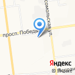 Вертикаль-Сервис на карте Южно-Сахалинска