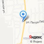 Актив-Безопасность на карте Южно-Сахалинска