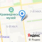 Фотосалон на карте Южно-Сахалинска