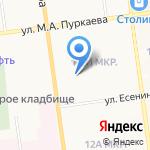 Студия стиля Елены Кравченко на карте Южно-Сахалинска