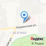 Центр временного содержания несовершеннолетних правонарушителей на карте Южно-Сахалинска
