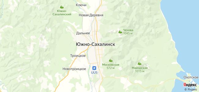 34 автобус в Южно-Сахалинске